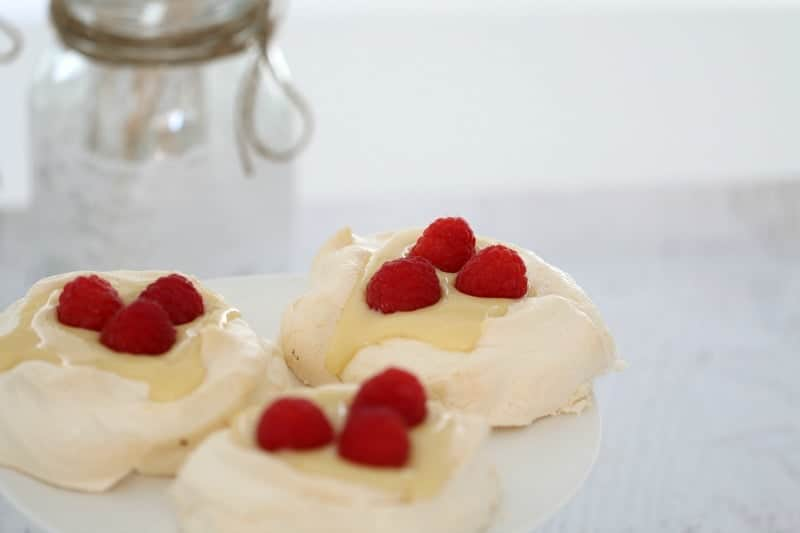 Thermomix Lemon Curd Meringues