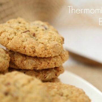 Thermomix Oat Cookies