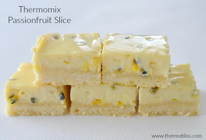 Thermomix Passionfruit Slice Recipe