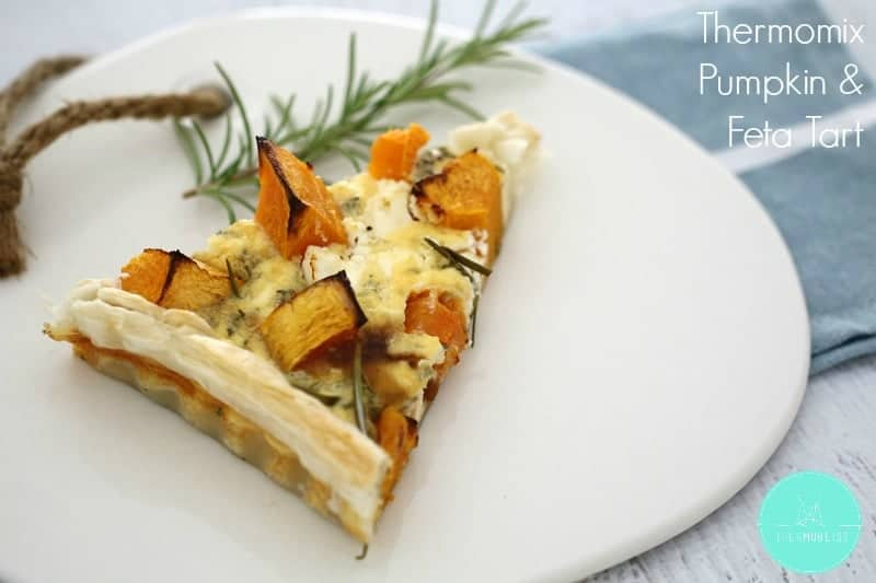 Thermomix Pumpkin & Feta Tart - ThermoBliss
