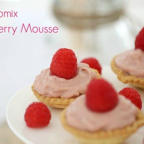 Thermomix Raspberry Mousse