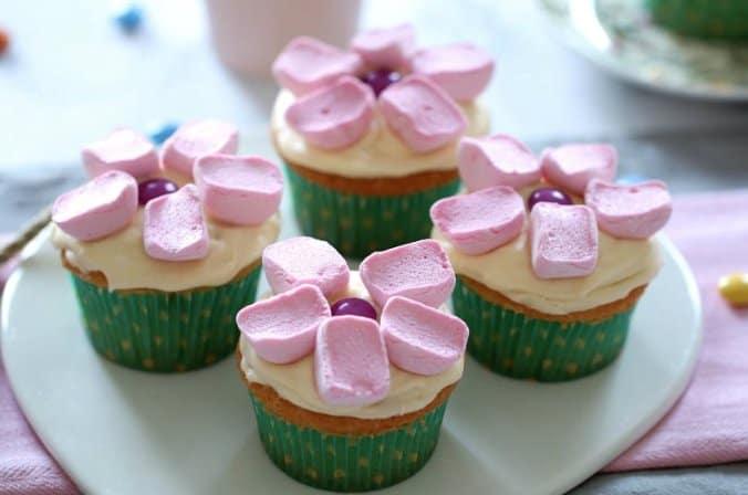 Thermomix Marshmallow Cupcakes