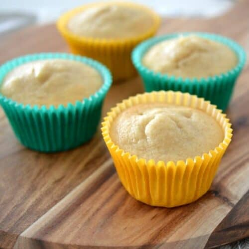 Thermomix Spiced Banana Muffins