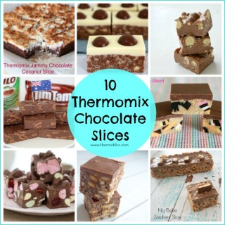 Chocolate Slices to make in your thermomix