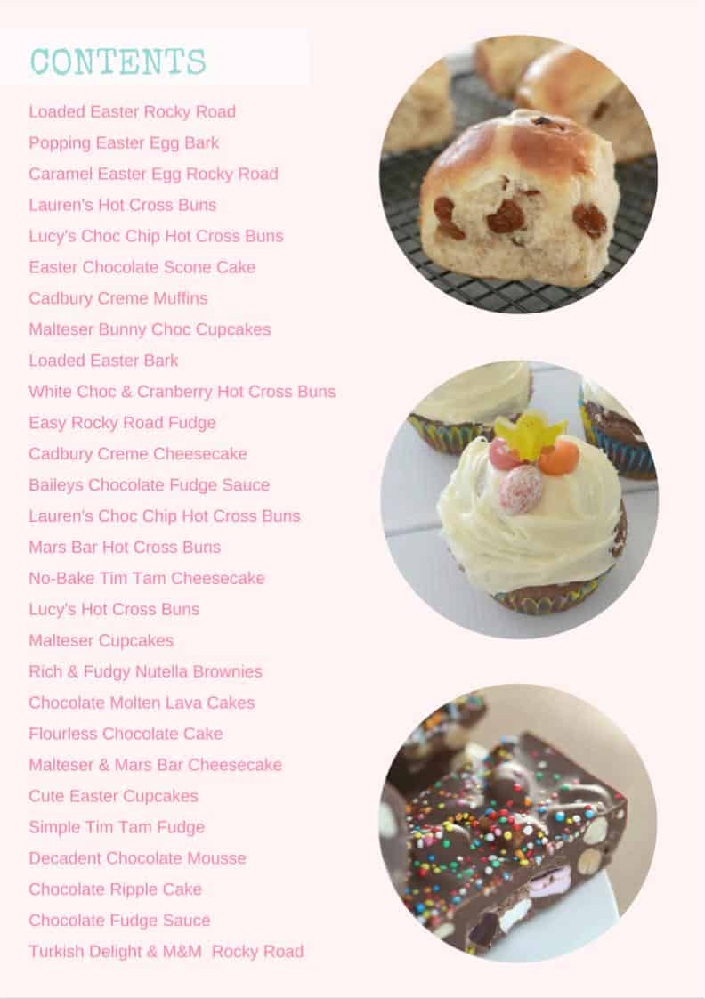 Thermomix Easter eBook Contents