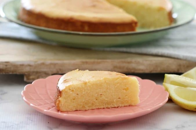 Thermomix Lemon and Sour Cream Cake