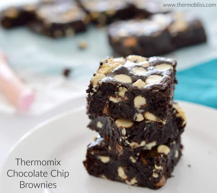 Thermomix Chocolate Chip Brownies