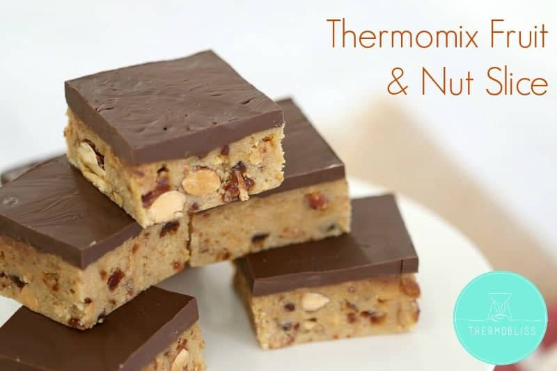 Thermomix Fruit & Nut Slice