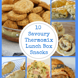 10 Savoury Thermomix Lunch Box Snacks