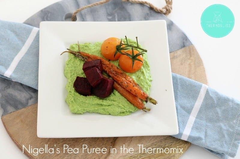 Nigella Lawson's Pea Puree in the Thermomix