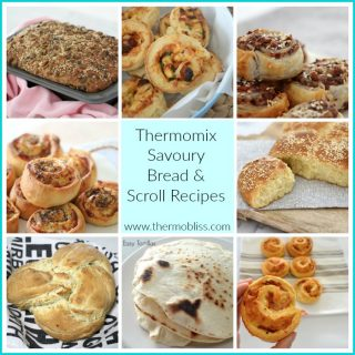 Thermomix Savoury Bread and Scrolls Recipes