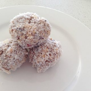 Thermomix Cherry Ripe Balls