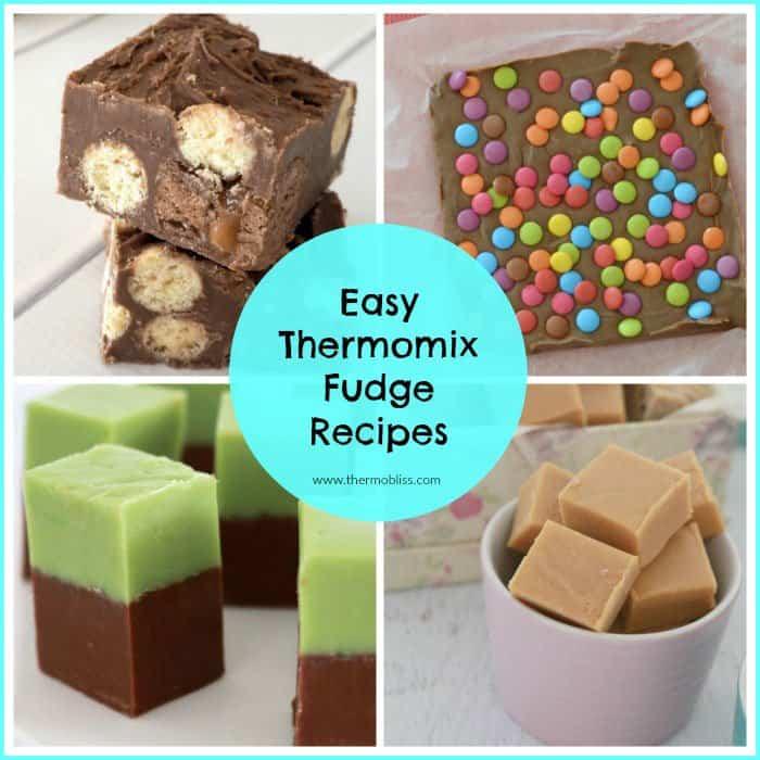 Easy Thermomix Fudge Recipes