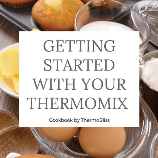 Thermomix Cookbook Getting Started