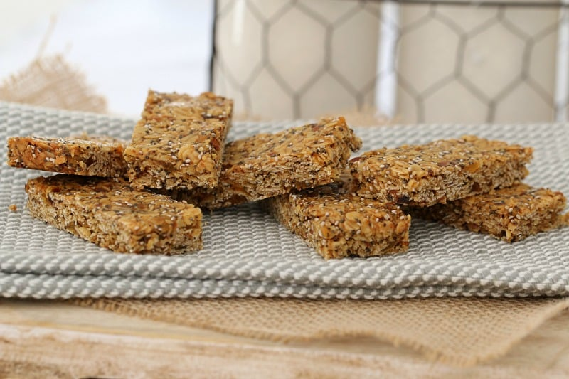 Healthy Thermomix Muesli Bars