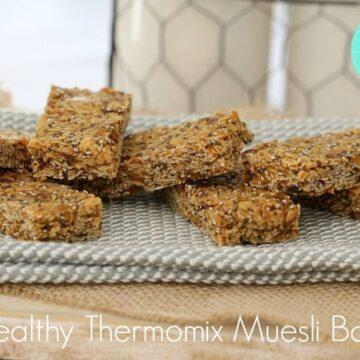 Healthy Thermomix Muesli Bars