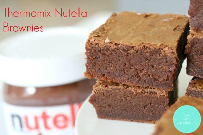 Thermomix Nutella Brownies