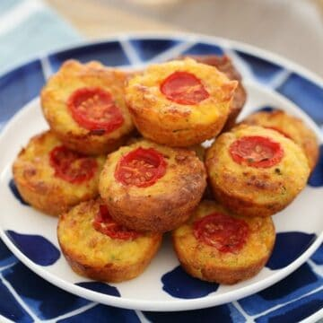 Healthy Thermomix Savoury Mini Quiches