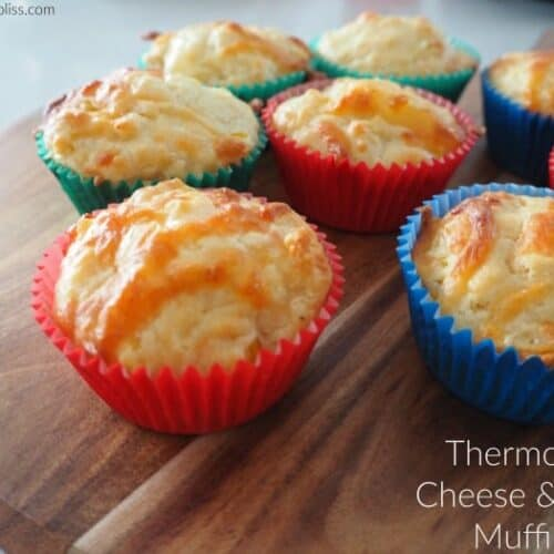 Thermomix Cheese and Corn Muffins