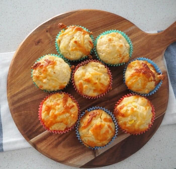 Thermomix Cheese and Corn Muffins - Thermobliss