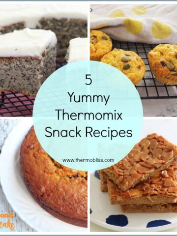 5 Yummy Thermomix Snack Recipes