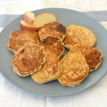 thermomix apple and cinnamon pikelets