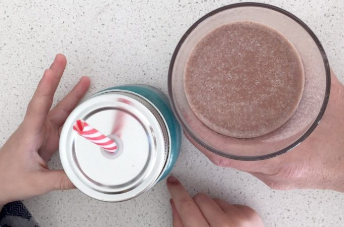 Thermomix Chocolate Strawberry Smoothie