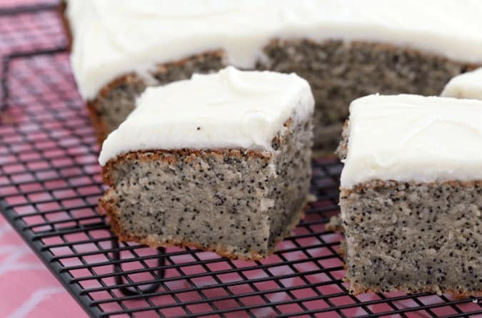 Thermomix Banana and Poppy Seed Cake