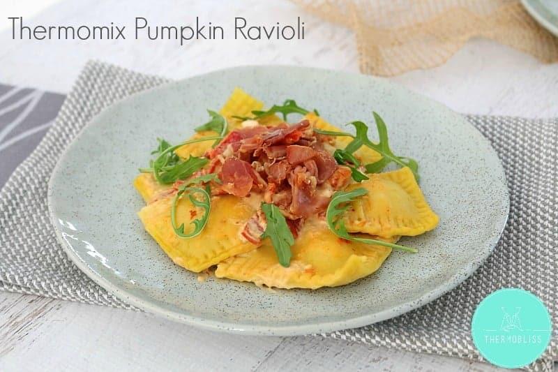 Thermomix Pumpkin Ravioli - Thermobliss