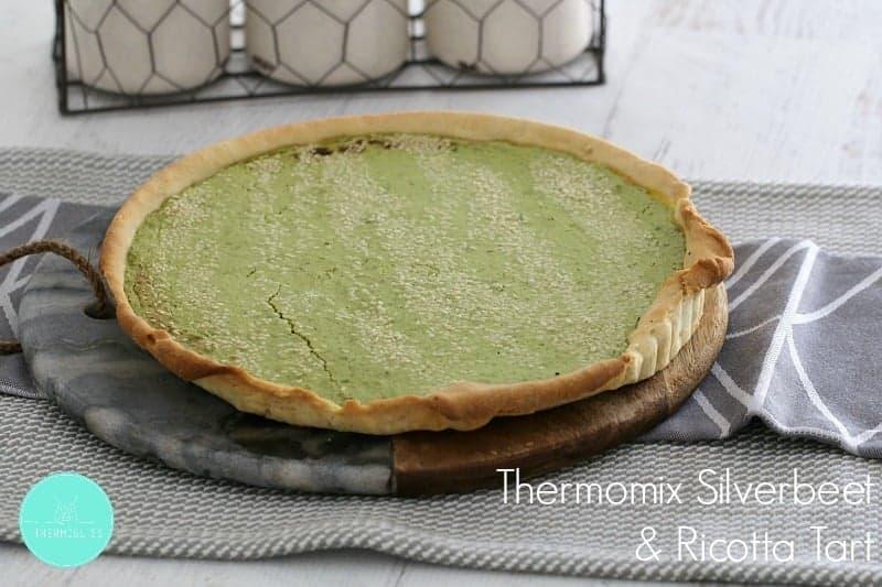 Thermomix Silverbeet & Ricotta Tart