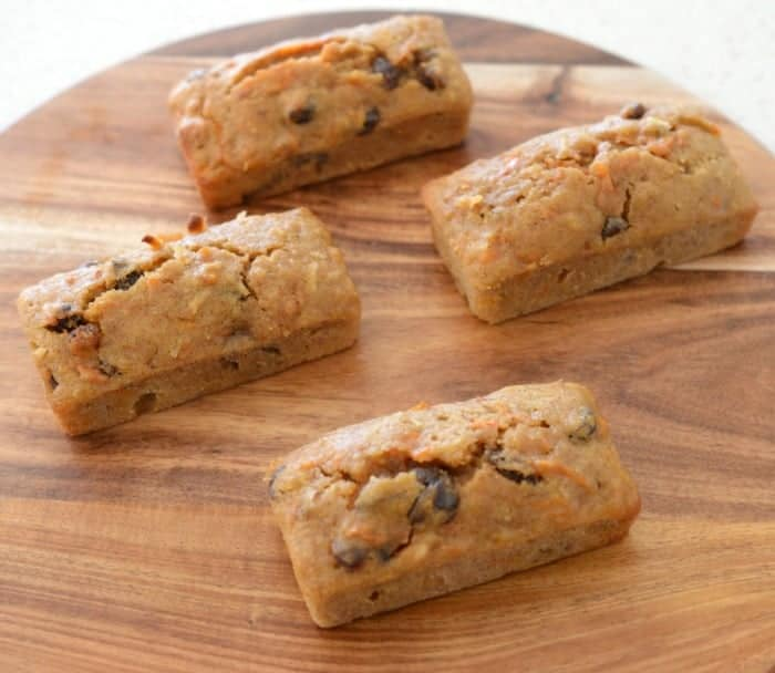 Thermomix Carrot and Walnut Cakes