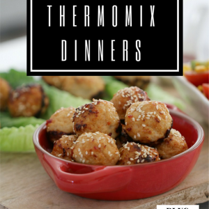 A Month of Thermomix Dinners
