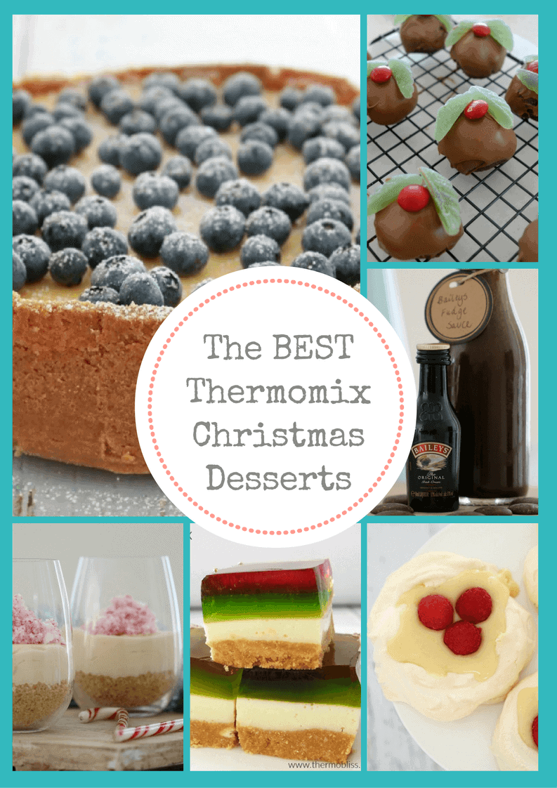 The BEST Thermomix Christmas Desserts