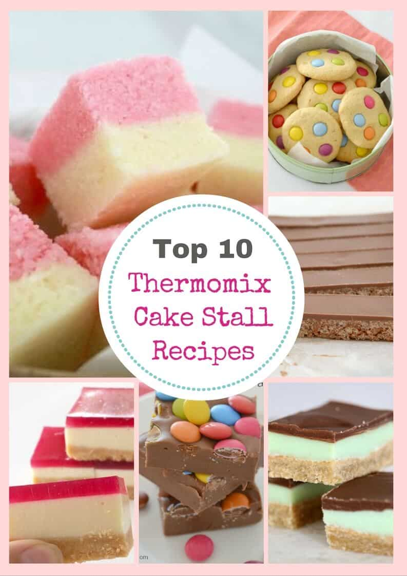 10 Thermomix Cake Stall Classics