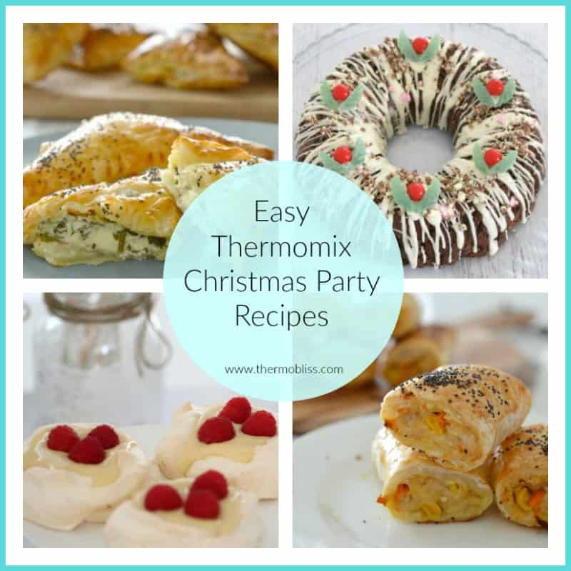 easy thermomix christmas party recipes thermobliss. Black Bedroom Furniture Sets. Home Design Ideas
