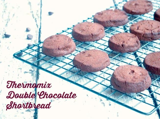 Thermomix Chocolate Shortbread