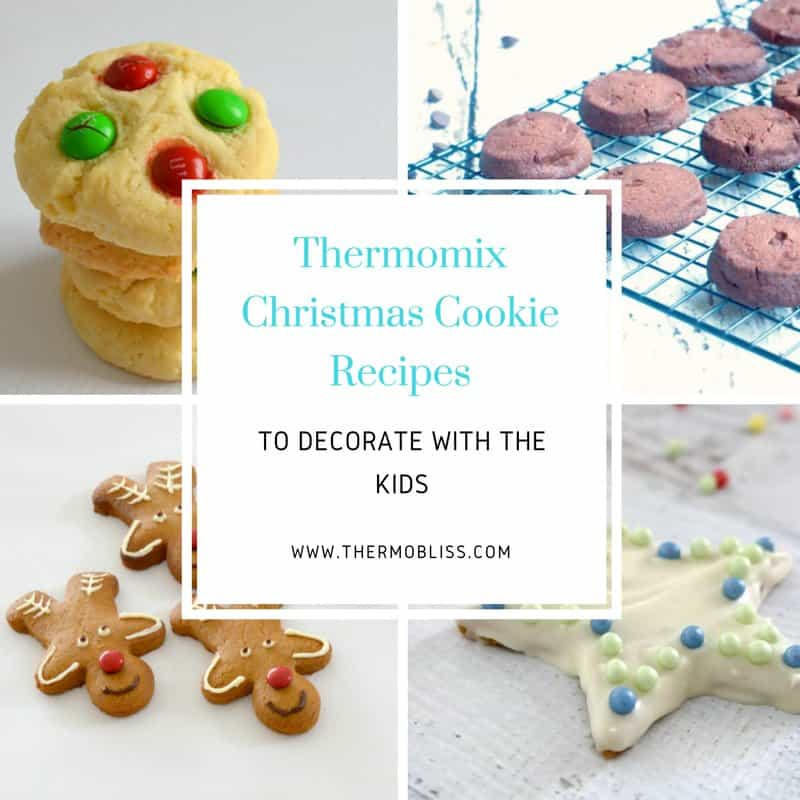 Thermomix Christmas Cookie Recipes to Decorate with the Kids