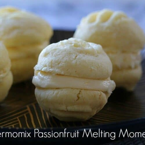 Thermomix Passionfruit Melting Moments