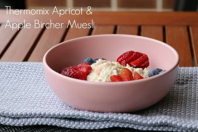 Thermomix Apple & Apricot Bircher Muesli