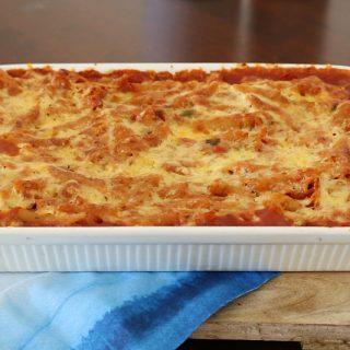 Thermomix Hidden Vegetable Pasta Bake