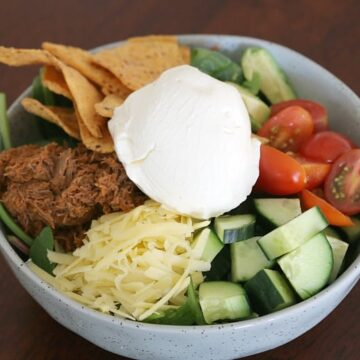 Thermomix Mexican Beef Bowls