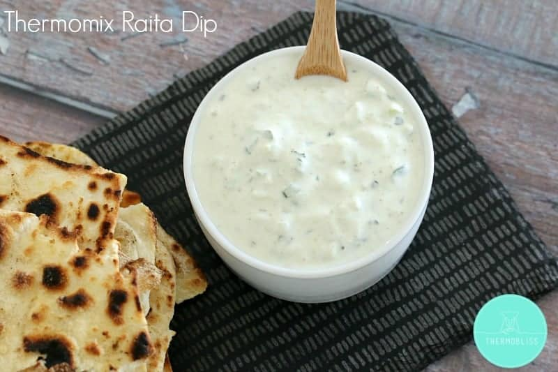 Thermomix Mint & Cucumber Raita Dip