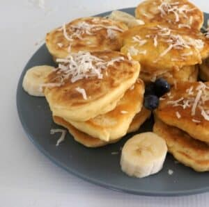 Thermomix Coconut Pikelets
