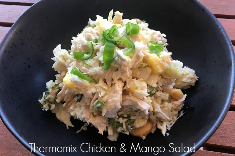 Thermomix Chicken & Mango Salad