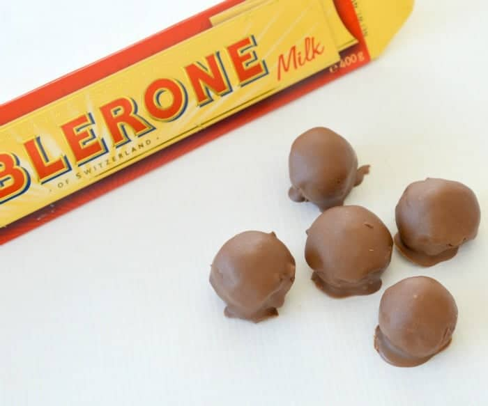 Thermomix Toblerone Cheesecake Balls