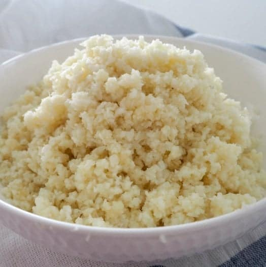 How to make Thermomix Cauliflower Rice