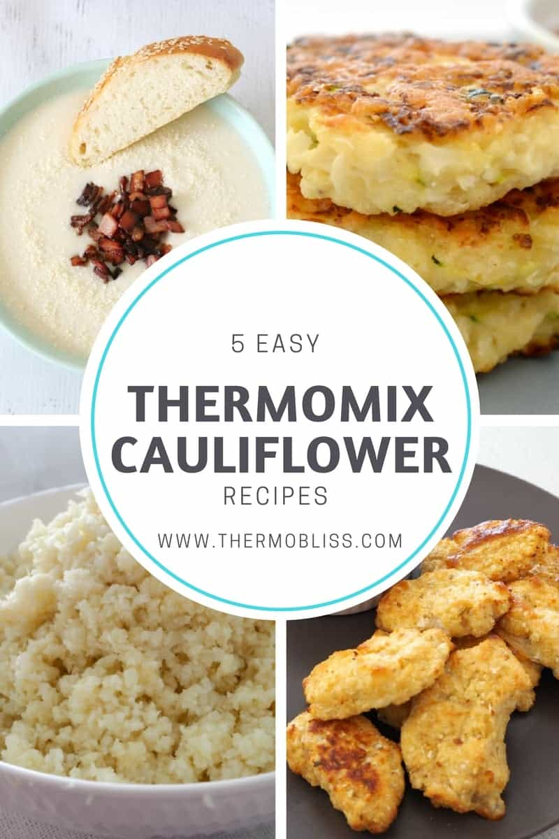 5 Easy Makeup Looks In Under 10 Minutes: 5 Easy Thermomix Cauliflower Recipes