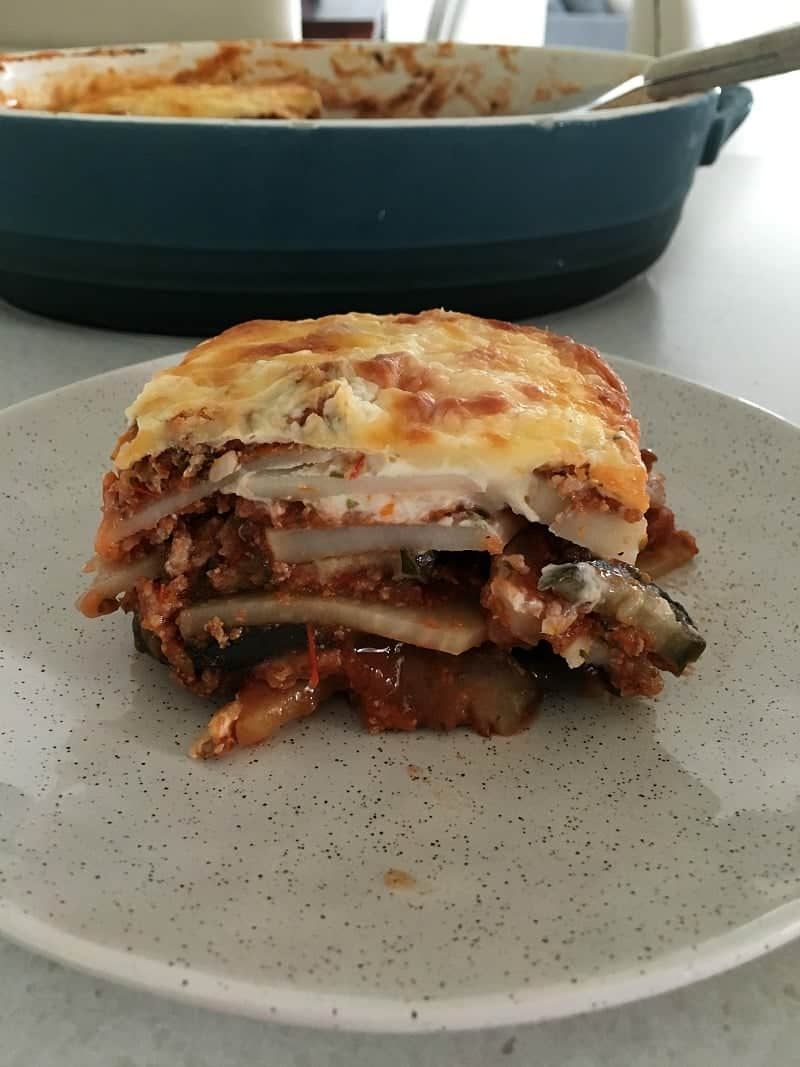 Easy Thermomix Moussaka