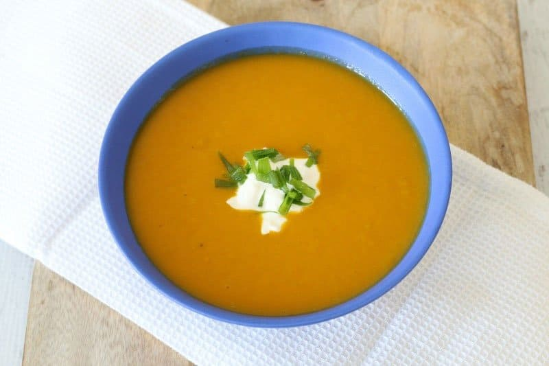 Thermomix Pumpkin Soup with cream