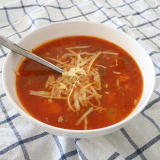 Thermomix Spicy Tomato and Vegetable Soup